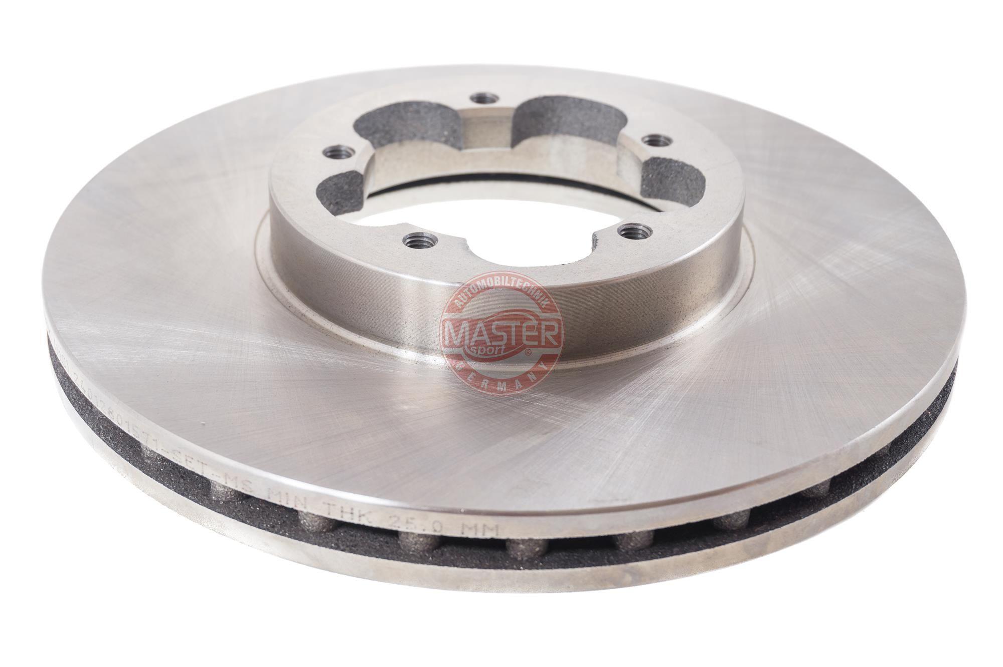 MASTER-SPORT Спирачен диск 24012801571-PCS-MS