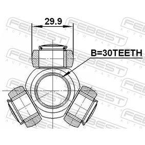 2416MEG Tripodestern, Antriebswelle FEBEST 2416-MEG - Große Auswahl - stark reduziert