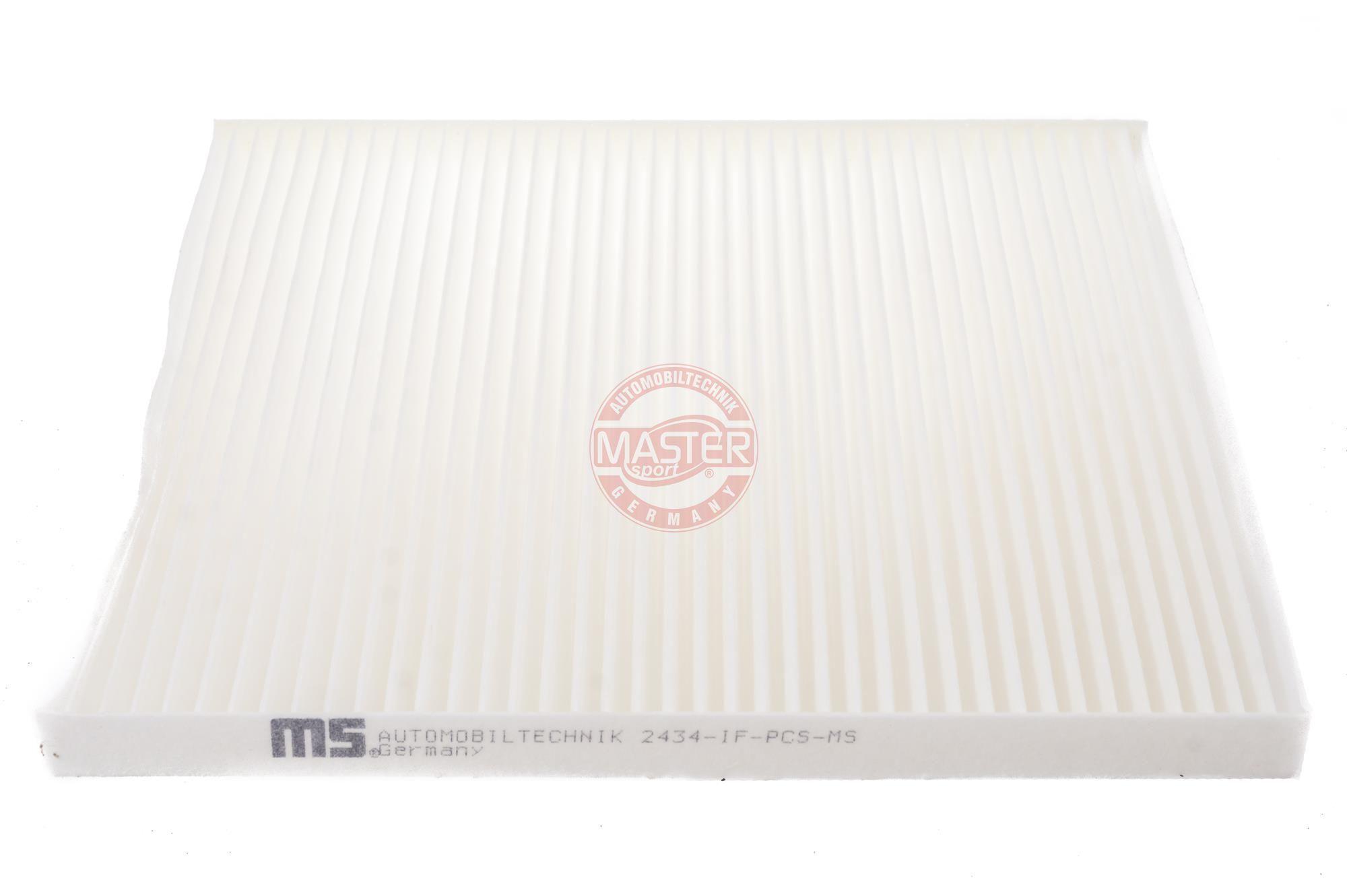 420024340 MASTER-SPORT Partikelfilter Breite: 211mm, Höhe: 17mm, Länge: 240mm Filter, Innenraumluft 2434-IF-PCS-MS günstig kaufen