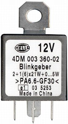 4DM003360-021 Indicator Relay HELLA - Experience and discount prices