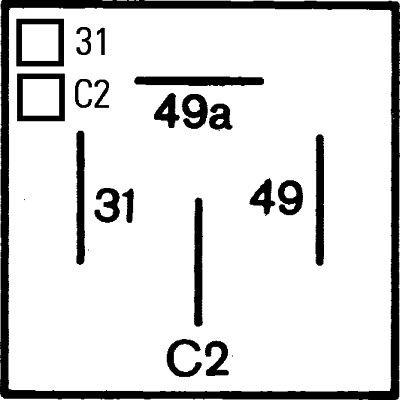 4DM 003 360-021 Flasher Unit HELLA Test