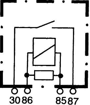 4RA 007 791-011 Relais, Arbeitsstrom HELLA in Original Qualität