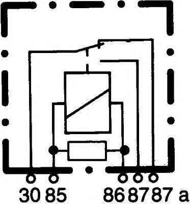 HELLA   Relais, Arbeitsstrom 4RD 007 814-017