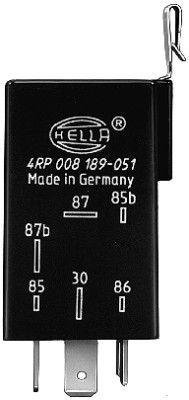 OE Original Benzinpumpenrelais 4RP 008 189-051 HELLA