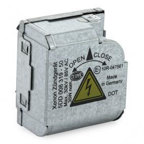 5DD008319501 Arrancador, lâmpada de descarga de gás HELLA 5DD 008 319-501 Enorme selecção - fortemente reduzidos