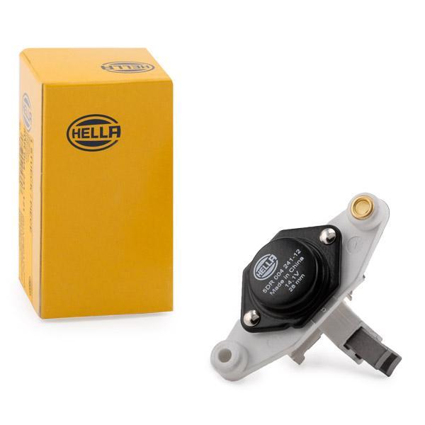 HELLA: Original Lichtmaschinenregler 5DR 004 241-121 (Nennspannung: 12V, Betriebsspannung: 14,1V)