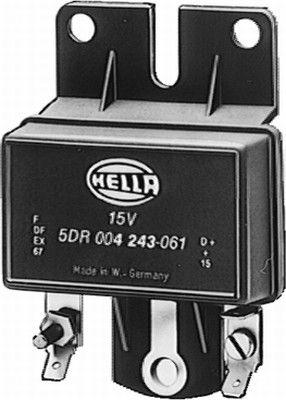 Accesorios y recambios CITROËN 2CV 1985: Regulador del alternador HELLA 5DR 004 243-051 a un precio bajo, ¡comprar ahora!