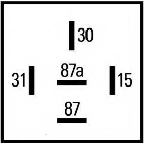 5HE009130001 Relais, Heckscheibenheizung HELLA 5HE 009 130-001 - Große Auswahl - stark reduziert