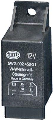 OE Original Heckscheibenwischer Relais 5WG 002 450-311 HELLA