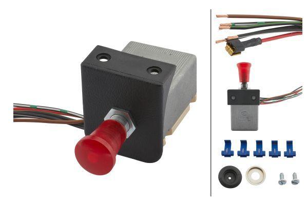 NISSAN 200SX 1992 Warnblinkschalter - Original HELLA 6HD 002 535-101