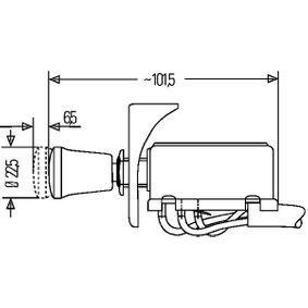 6HD002535101 Warnblinkschalter HELLA online kaufen