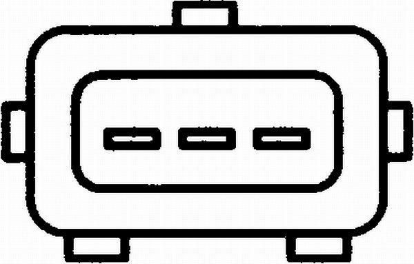 HELLA   Klopfsensor 6PG 009 108-531
