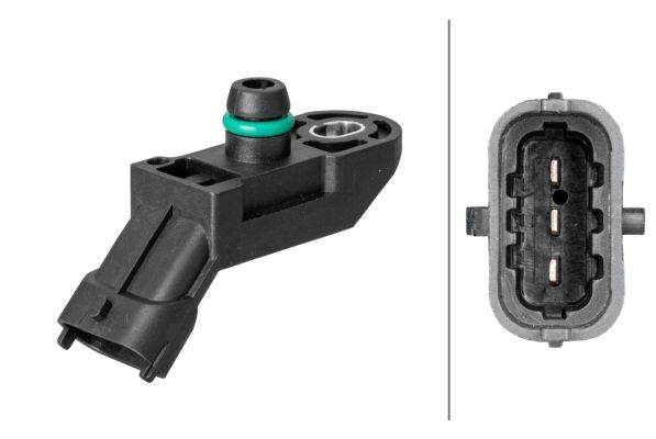 NISSAN ALMERA 2019 Sensor Ladedruck - Original HELLA 6PP 009 400-111