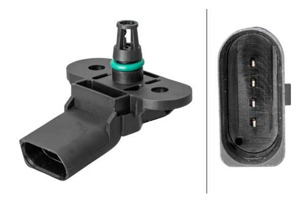 Sensor, Saugrohrdruck HELLA 6PP 009 400-501