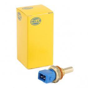 066171 HELLA blau, mit Dichtung SW: 19, Anschlussanzahl: 2 Sensor, Kühlmitteltemperatur 6PT 009 107-361 günstig kaufen