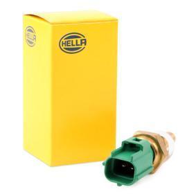 066179 HELLA grau, grün, mit Dichtung Anschlussanzahl: 2 Sensor, Kühlmitteltemperatur 6PT 009 107-481 günstig kaufen