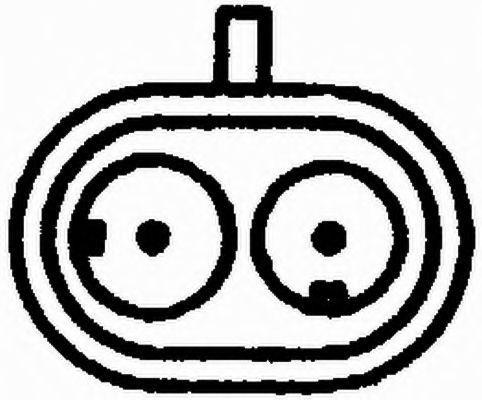 HELLA | Impulsgeber, Kurbelwelle 6PU 009 110-341