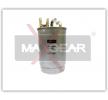 Volkswagen TOUAREG MAXGEAR Bränslefilter 26-0144