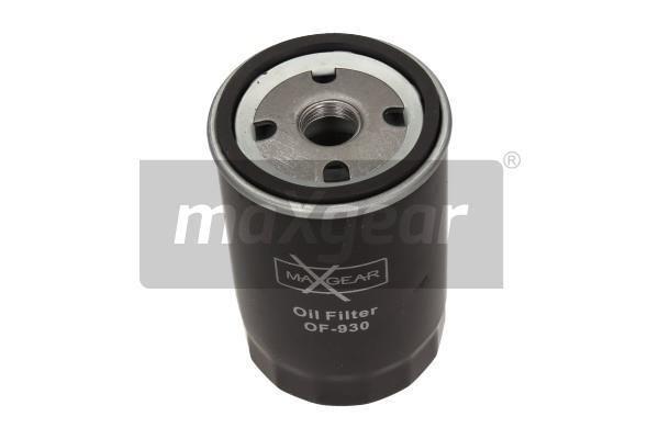 OF455 MAXGEAR Anschraubfilter, mit einem Rücklaufsperrventil Ø: 80mm, Höhe: 123mm Ölfilter 26-0494 günstig kaufen