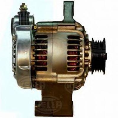 JA764IR HELLA 14V, 45A Rippenanzahl: 4 Lichtmaschine 8EL 730 098-001 günstig kaufen