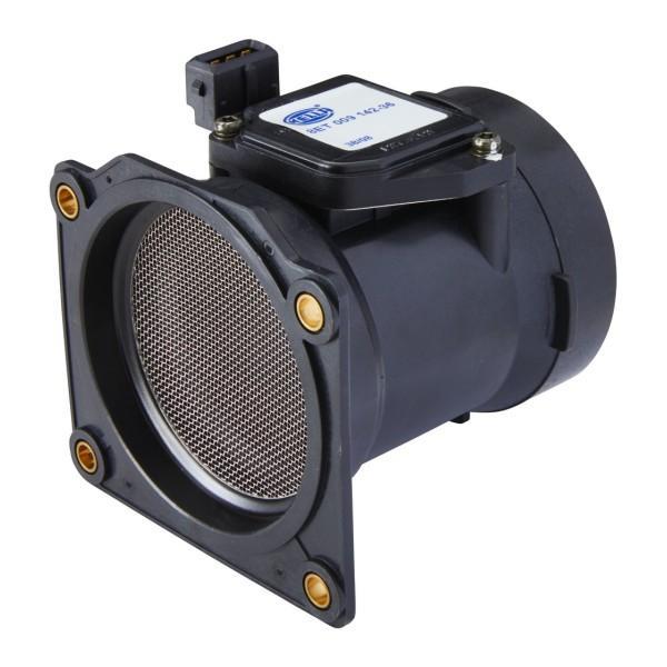 8ET 009 142-361 HELLA Saugrohranschluss-Ø: 82mm, Anschlussanzahl: 3 Luftmassenmesser 8ET 009 142-361 günstig kaufen