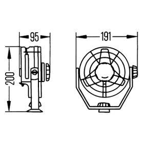 HELLA Vnitřní ventilátor 8EV003361011: nakupujte online