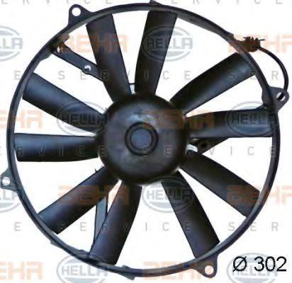 8EW 009 144-741 HELLA für Fahrzeuge mit Klimaanlage, Ø: 302mm Kühlerlüfter 8EW 009 144-741 günstig kaufen
