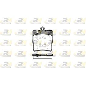 D8767753 ROADHOUSE Hinterachse, für Verschleißwarnanzeiger vorbereitet, mit Klebefolie, mit Zubehör Höhe: 78,18mm, Dicke/Stärke: 15,3mm Bremsbelagsatz, Scheibenbremse 2709.00 günstig kaufen