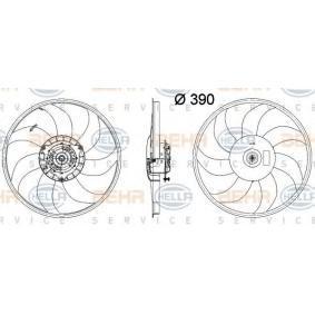 HELLA 8EW 351 041-641 Lüfter Motorkühlung für OPEL