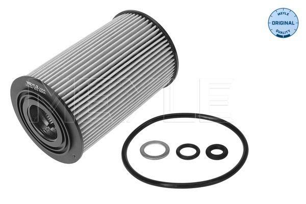 Hyundai GRANDEUR 2014 Oil filter MEYLE 28-14 322 0004: with seal, Filter Insert, ORIGINAL Quality