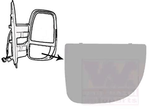 Original IVECO Spiegelglas 2817832