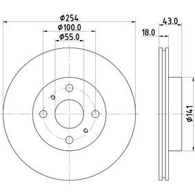 BEHR HELLA SERVICE 8FH 351 313-281  Radiador de calefacci/ón