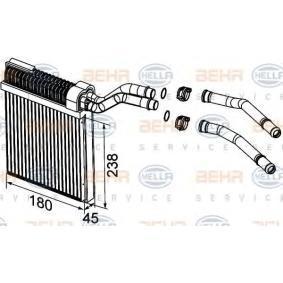8FH 351 315-501 HELLA Heat Exchanger  interior heating