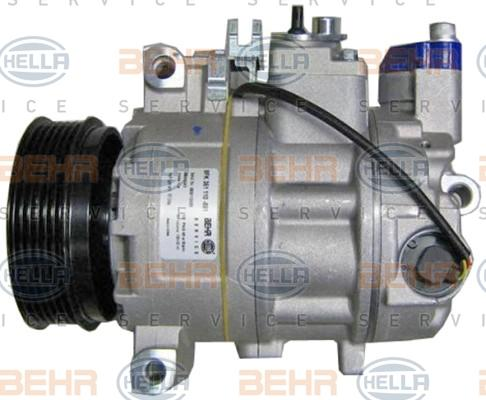 8FK 351 110-881 Klimaanlage Kompressor HELLA - Markenprodukte billig