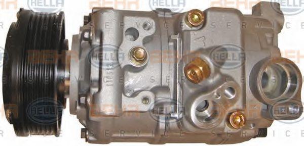 8FK 351 110-921 Klimaanlage Kompressor HELLA - Markenprodukte billig