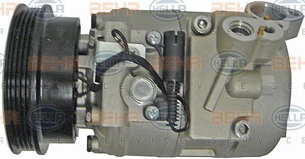 Kompressor Klimaanlage 8FK 351 126-991 BMW 5er 1999