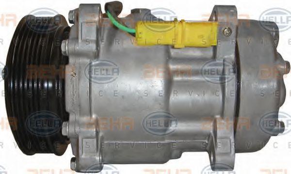 Compresor, aire acondicionado HELLA 8FK 351 127-991 Opiniones