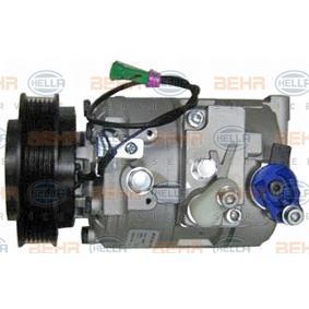 8FK 351 132-581 HELLA Compresor De Aire Acondicionado