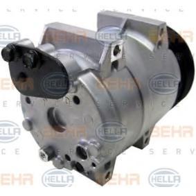 8FK351133-451 Kompressor, klimatanläggning HELLA - Upplev rabatterade priser