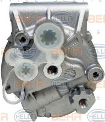 8FK351135361 Kompressor, Klimaanlage HELLA 8FK 351 135-361 - Große Auswahl - stark reduziert