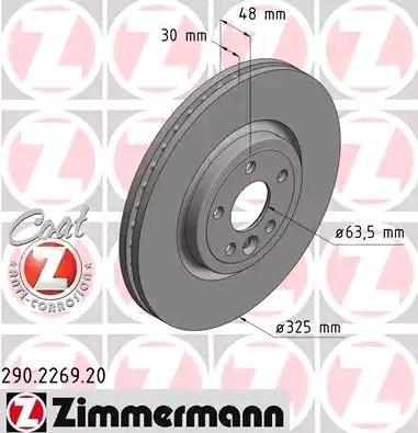 Bremsscheibe ZIMMERMANN 290.2269.20 Bewertungen