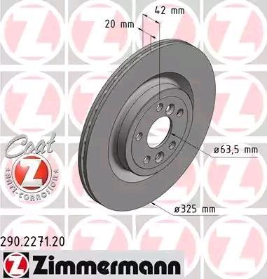 Bremsscheibe ZIMMERMANN 290.2271.20 Bewertungen