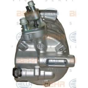 8FK 351 316-141 Compresor, aire acondicionado HELLA - Productos de marca económicos