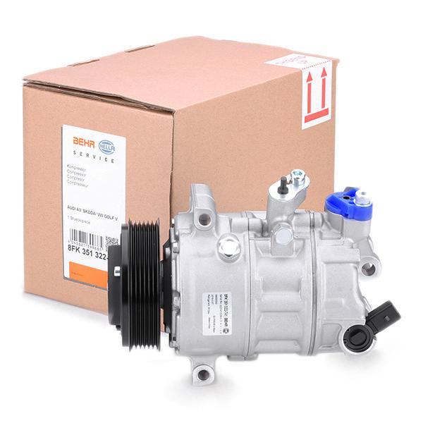 8FK351322741 Kompressor, Klimaanlage HELLA 8FK 351 322-741 - Große Auswahl - stark reduziert