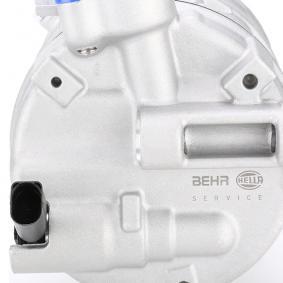 8FK 351 322-741 Kompressor, kliimaseade HELLA originaal kvaliteediga