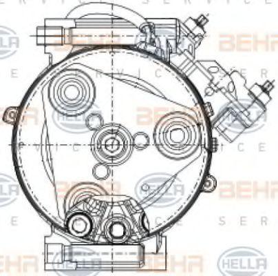 HELLA   Klimakompressor 8FK 351 334-391