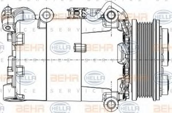 8FK351334-391 Kältemittelkompressor HELLA Erfahrung