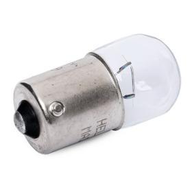 8GA 002 071-131 Glödlampa, skyltbelysning HELLA - Billiga märkesvaror