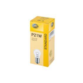 P21W HELLA P21W, BAY15s, 12V, 21W Glühlampe, Blinkleuchte 8GA 002 073-121 günstig kaufen
