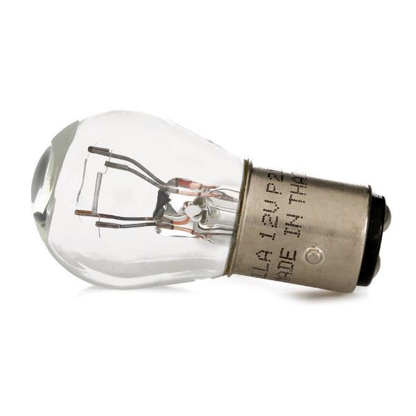 HELLA Glödlampa, blinker P21/5W, BAY15d, 12V, 21/5W 8GD 002 078-121 SUZUKI